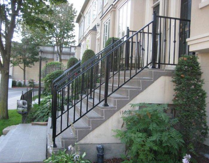 CPL Aluminum Railings & Glass (residential metal railing ) 10