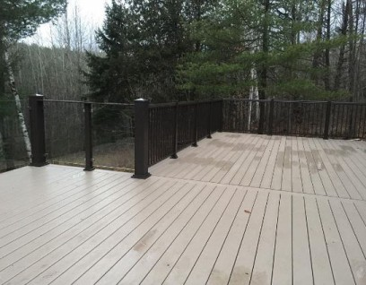 Deck Railings - 9 May