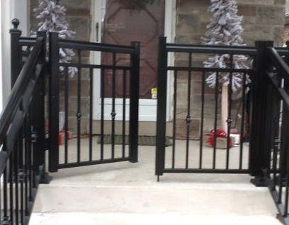 Aluminum Gates for Entrances