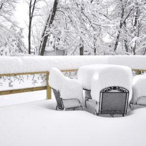 Decks in winter